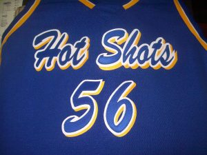 Hot Shots sports Jersey example