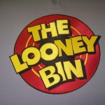 The Loon Bin embroidery example