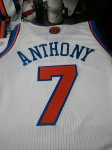 Knicks Anthony Jersey