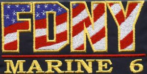FDNY American flag logo