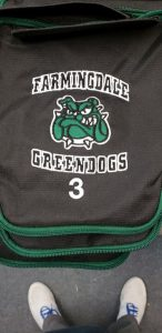 Famingdale Geendogs jersey and logo