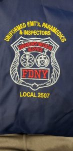 FDNY red and blue logo
